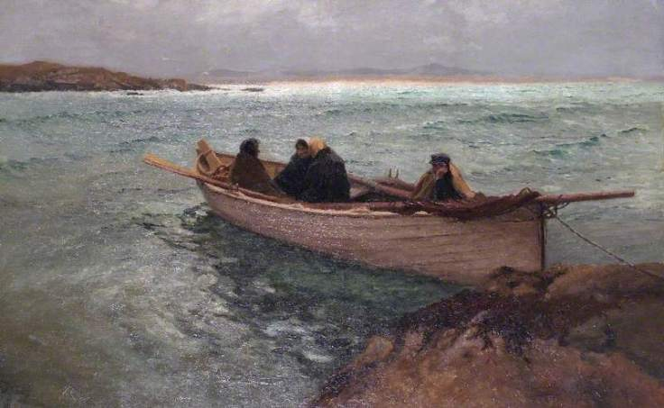 Bartlett, William Henry; Stormbound on the Rosses, North West Donegal, Ireland; Reading Museum; http://www.artuk.org/artworks/stormbound-on-the-rosses-north-west-donegal-ireland-41722