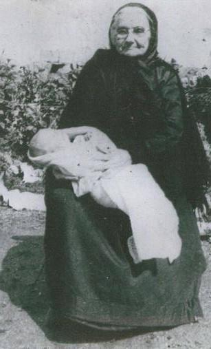 Mrs Mary Ward (John the Master) Keadue with Brian Ward