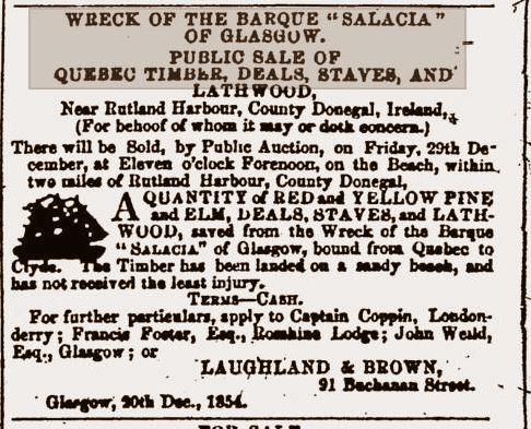 salacia sale 1854
